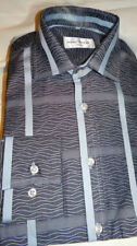 Dry-clean Only Regular Striped Formal Shirts for Men