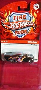 """2008 HOT WHEELS """"FIRE RODS"""", WILLYS COUPE, #6 OF 26"""