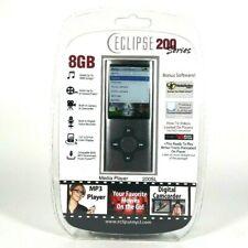Mach Speed Eclipse Eclipse200Sl8Gb 8 Gb Silver Flash Portable Media Player