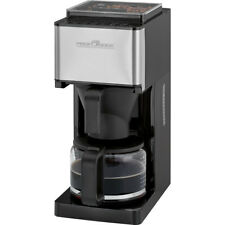 Cafetera de goteo para 8-10 tazas con molinillo cafe programable Proficook 1138