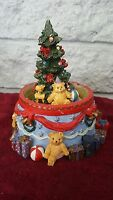 BROKEN CHRISTMAS GLOBE Christmas Tree Bears