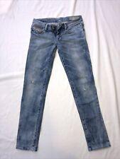 Diesel Jeans Getleggy J Strech, Größe 10, 140, Destroyed,