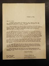 Letter addressed to Mr. James Allen of the Hotel Savery Des Moines, IA 1940