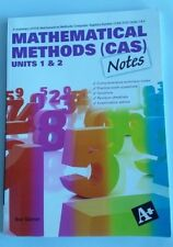 Mathematical Methods (CAS) Notes Units 1 and 2 by Sue Garner (Paperback, 2009)