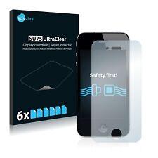 6x Displayschutzfolie für iPhone 4 / 4S Klar Schutzfolie Displayfolie