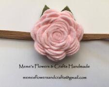 Felt Flower Headband, Baby Headband, Newborn Headband, Handmade