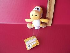 "Super Mario Bros Plush Soft ""Yellow Yoshi"" 5""in Plush with Key or Bag Attachment"