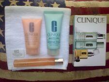 Clinique Skincare Travel Pack, Serum, Gel, Exfoliator & Soap & Glory cloth