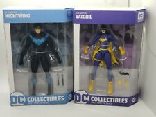 DC Essentials Nightwing and Batgirl 7 inch Action Figures