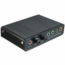 External USB 5.1 3D Audio Sound Card Virtual 7.1 Channel Converter Adapter C 7U3