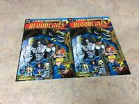 LOBO ANNUAL BLOOD LINES #1,1 (SAME COVER) LOT OF 2  NM 1993  DC