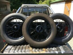 Classic Caravan Eccles Trailer Wire WHEEL RESTORATION -Tudor Wheels Ltd