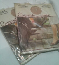 COLLANT VINTAGE beige T1 EMPREINTE retro' pantyhose strumpfhosen COLLECTION 20d