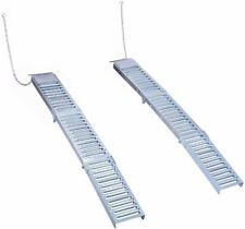 "Goplus Set Of Two 9""x 72"" Steel Folding Loading Ramps for ATV"