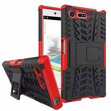 Carcasa híbrida 2 piezas exterior Rojo Funda para Sony Xperia X Compact f5321