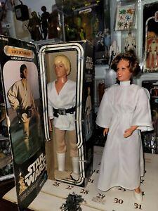 Vintage Kenner large size Star Wars figure lot