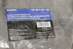 Eastman Water Heater Pan Plastic 24-In ID x 26-In OD 60082