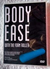 BODY EASE WITH THE FOAM ROLLER (DVD) R - ALL, LIKE NEW, FREE POST IN AUSTRALIA
