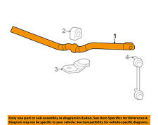 Cadillac GM OEM 09-10 CTS Stabilizer Sway Bar-Front-Bar 15948223