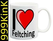 m101 I Love Heart FELTCHING cup mug SECRET santa Sex gift toy Gay dominatrix