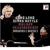 LANG LANG SIMON RATTLE Prokofiev Bartok Piano Concerto CD + DVD Sony Classical