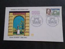 FRANCE 1967 FDC 1° JOUR, CELEBRITE', G. RAMON, ECOLE VETERINAIRE, VF