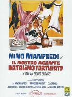 Italian Secret Service il Nostro agente Natalino Tartufato DVD NEW Nino Manfredi