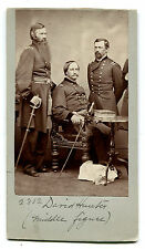 CIVIL WAR ERA PHOTO. MAJ. GEN. DAVID HUNTER. CONSPIRATORS LINCOLN ASSASSINATION.
