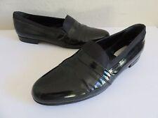 Mezlan Mirage Loafer  Black Patent Leather Opera Pump Tuxedo Shoes Mens 13B