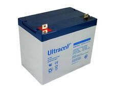 Batterie GEL camping car bateau 12v 75ah UCG75-12 Ultracell sans entretien
