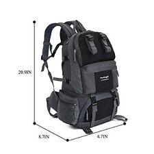 YiKaiSu 50L Camping Hiking Travel Waterproof Nylon Backpack Unisex
