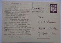Berlin, Scherzkarte GA, Text mit Bezug zum Vera Brühne Prozeß (29228)