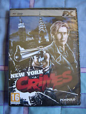 New York Crimes - PC - Aventura Gráfica - Nuevo Precintado  - Castellano