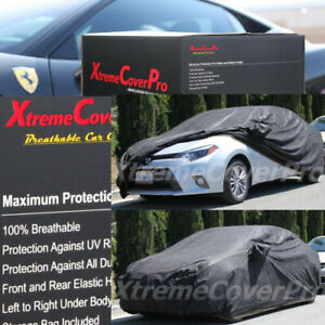 2017 2018 2019 TOYOTA COROLLA IM HATCHBACK BREATHABLE CAR COVER BLK W/MIRRORPOCK