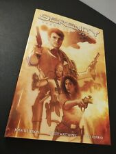 Serenity: Those Left Behind by Brett Matthews (2007, Hardcover) Firefly Whedon