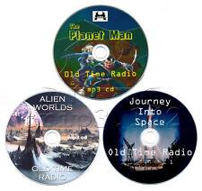 Planet Man + Journey Into Space + Alien Worlds (Science Fiction - Sci-Fi OTR)