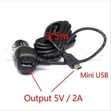 KFZ Auto Ladegerät Adapter Mini USB Kabel Für Handy Garmin Navi GPS Mobile MP3