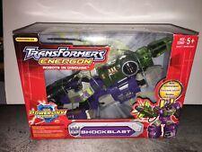 Transformers Energon Command Class Shockblast Shockwave Triple Changer Hasbro