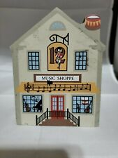 Cat's Meow Village 12 Days Christmas Twelve Drums Music Shoppe #00-933 Used