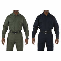 5.11 Tactical Taclite TDU Long-Sleeve Shirt, Style 72054T, Sizes S-5XL, Big&Tall