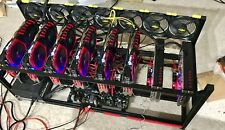 48 hour Rent 8GPU Rig Ethereum Miner @ 200 MH/s RX580 8GB mining 48h