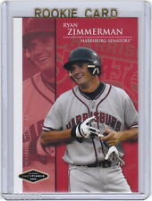 LP~RC~RYAN ZIMMERMAN 2005 Justifiable 06 Preview ROOKIE CARD~'05~ALL-STAR~AS~WSN