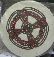 "Irish Music 18"" Knotwork Bodhran Drum Beater DVD Cover 4items"