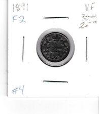 Canada 1891 5 cent silver nickel