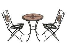 Arredamento Sedie Da Giardino.Tavolo Ferro Mosaico Giardino A Set Di Tavoli E Sedie Da