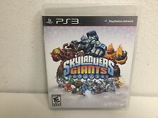 SKYLANDERS GIANTS for PS3 Playstation 3 game ONLY- NO figures or portal