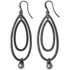 Pilgrim Ohrringe Winter Earrings grau Hämatite plattiert 261443123