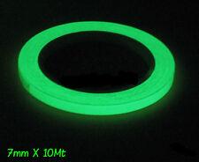7MMx 10MT Fluoreszierend Phosphorband Markierungsband Leuchtband Nachtleuchtend