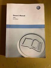 2011 VW Jetta Owners Manual