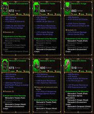 Diablo 3 RoS PS4 [SOFTCORE] - Marauders Demon Hunter Set [Ancient]